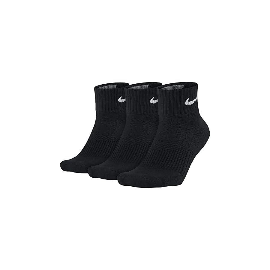 NIKE Performance Cushion Quarter Training Socks (3 Pairs)