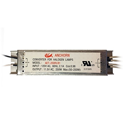 alogen Low Voltage Transformer, 12V 250W (250w Electronic Transformer)
