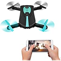 Koeoep 2.4G Wireless WiFi FPV Phone Control Pocket Selfie Camera Drone Quadcopter (JY018)