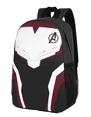 Quantum Backpack,Avengers Backpack,Avenger Endgame Backpack for Boys Men Grey