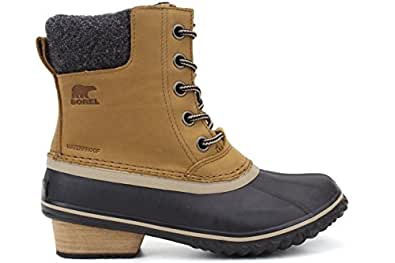 Sorel Slimpack II Lace Boot - Women's Elk / Black 5