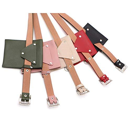 Viaggio Size Jingchangjidianshebei Borsa Albicocca Nero Free In Da Dimensione colore Cinturino Con Pelle Donna Swa70qwpr