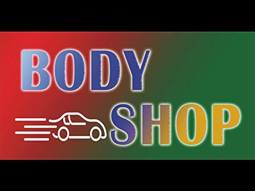 bn0554-car-body-shop-care-engine-motorbike-motor-wash-spray-open-banner-sign