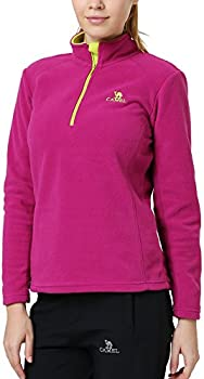 Camel Mens/Womens Zip Fleece Lightweight Lightweight Pullover Jacket