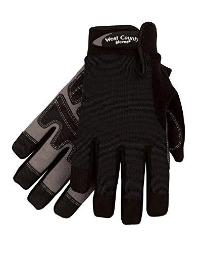 West County Gardener 038B/XL Men's Waterproof Glove, X-Large, - County West