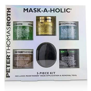 Amazon.com : Peter Thomas Roth Mask-A-Holic Kit: Cucumber Gel Mask+rose Stem Gel Mask+pumpkin Enzyme Mask+irish Moor Mud Mask+24k Gol : Beauty