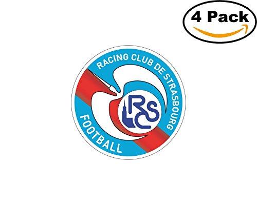 fan products of Racing Club de Strasbourg France Football Club Soccer FC 4 Sticker Decal 4X4