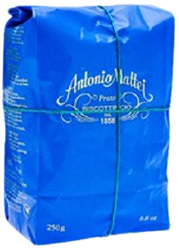Biscottificio Antonio Mattei Biscotti Di Prato with Almonds, 8.8 Ounce