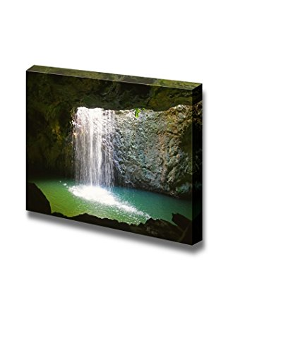 The Waterfall at Natural Arch in Springbrook National Park Australia Home Deoration Wall Decor ing