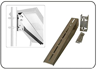 Solar Panel Bracket / Solar Panel Mount - BP solar J box Solar Panels (up to 40Watts) or any panel less than 20 inches wide.