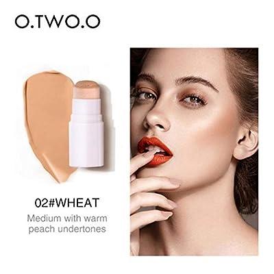 Ladiy Natural Brighten Waterproof Sweatproof Makeup Natural Sponge Concealer Stick Concealers & Neutralizers