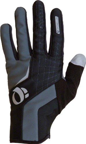 Spandex Izumi Gloves Pearl (Pearl iZUMi Men's Cyclone Gel Cycling Glove, Black, Large)