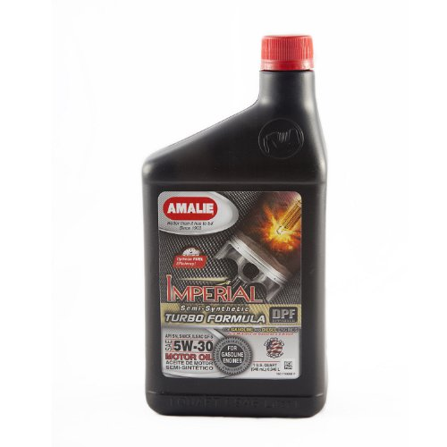 Amalie 71066 56 imperial turbo formula 5w 30 motor oil for Top 1 motor oil review
