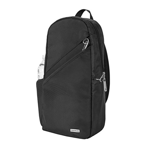 Travelon Anti-Theft Classic Sling Bag, Black, One Size