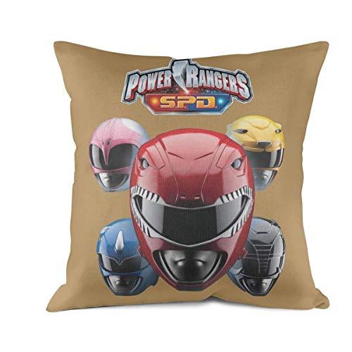 SINGKING Sofa Cushion Pillowcases Power-Rangers-SPD- Square -