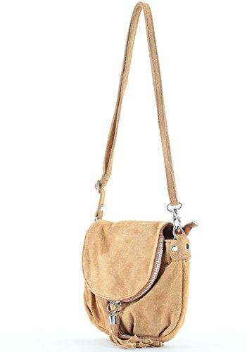 histoireDaccessoires SA144621GG Edoardo Women's Camel Shoulder Leather histoireDaccessoires Bag Women's Leather qgUq6