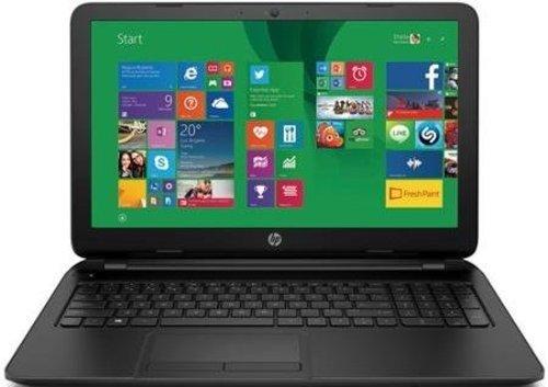 "Price comparison product image HP 15-f004wm Laptop Computer - 15.6"" HD Brightview WLED Backlit Screen, Intel Celeron N2830 Processor 2.16GHz, 4GB DDR3 RAM, 500GB HDD, Super DVD Burner, Windows 8.1"