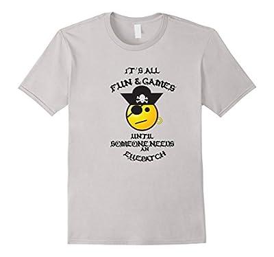 Cool Funny Pirate Bounty Treasure Buccaneer Eyepatch T-shirt