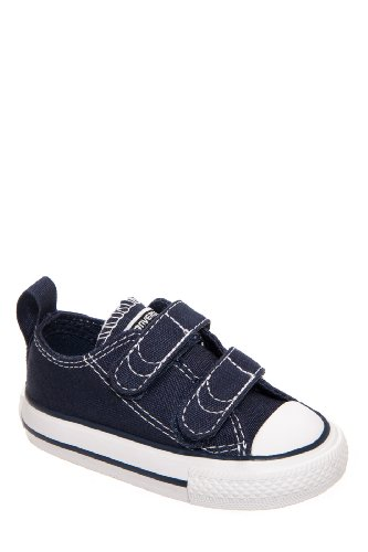 Converse Infant Chuck Taylor All Star V2 Ox Shoes, Size: 9 M US Toddler, Color: Athletic Navy/White](Toddler Converse Shoes Size 9)