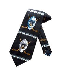 Steven Harris Hockey Equipment Necktie - Black - One Size Neck Tie