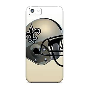 Durable Defender Cases For Iphone 5c Covers(new Orleans Saints)