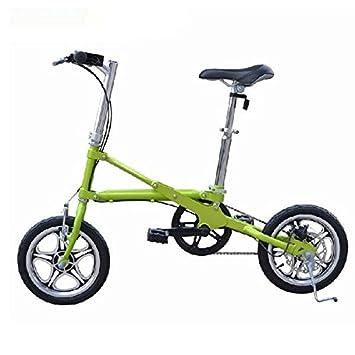 Bicicleta plegable de la mini bicicleta de 14 pulgadas de la rueda de la bicicleta ultraligera