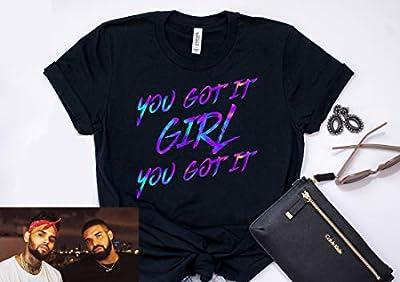 You Got It Girl No Guidance Chris Brown Shirt Chris Brown T Shirt Drake T Shirt Cute Drake Shirt Chris Brown Tee Gift for her