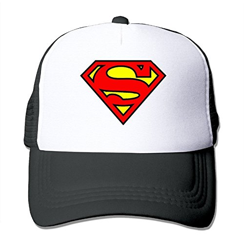 YYAASHOP Unisex Super Man Logo S Trucker Hats Snapback - Americas Hut Las Pizza