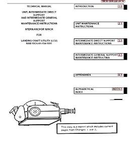 US Army, Technical Manual, TM 55-1905-223-24-16, LANDING CRA UTILITY, (LCU), (NSN 1905-01-154-1191), 1989