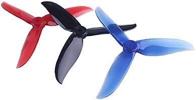12pcs 5045 hélices de 3 láminas 5 Pulgadas Tri Blade Props para ...