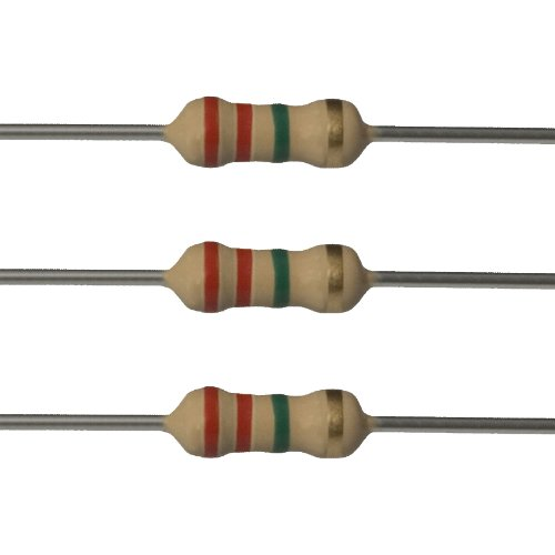 E-Projects 10EP5122M20 2.2M Ohm Resistors 1//2W Pack of 10 5/%