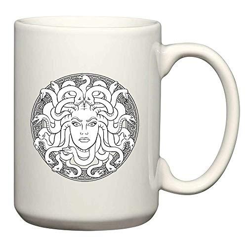 Great Medusa Design Long Sleeve Mug 15 Oz ()