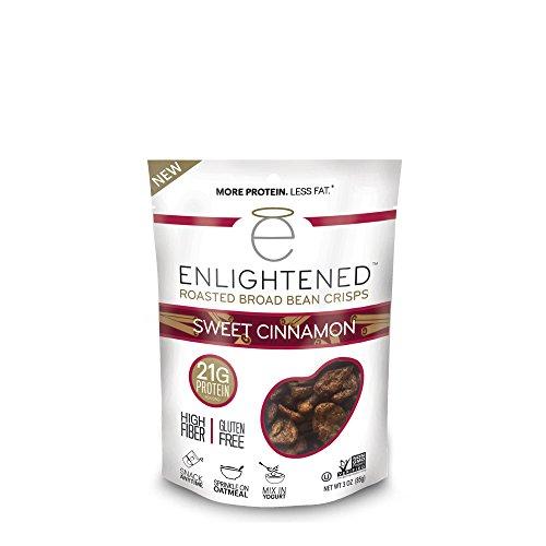 Enlightened Roasted Broad Bean Crisps – Sweet Cinnamon