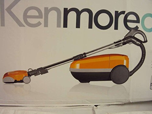 Kenmore Canister Vacuum Cleaner (2029319)--Orange