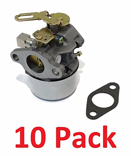 (10) CARBURETORS Carbs for Tecumseh 640299 640299A 640299B Snow Blower Thrower by The ROP Shop by The ROP Shop
