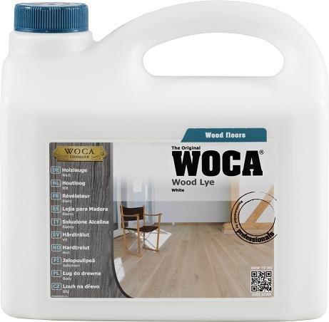 WOCA Wood Lye White - 2.5 Litre / 2.5L by Woca