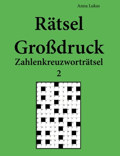 Rätsel Großdruck Zahlenkreuzworträtsel 2