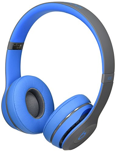 Beats Solo2 Wireless On-Ear Headphone, Active Collection – Flash Blue Old Model Renewed