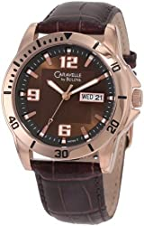 Caravelle by Bulova Men's 44C103 Leather strap sport Watch