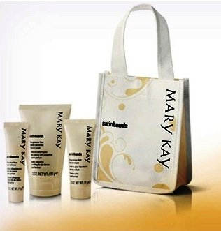 Amazon.com : Mary Kay Peach Satin Hands Travel Size Pampering ...