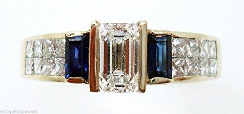 0.61 Ct Emerald Cut Diamond - 1