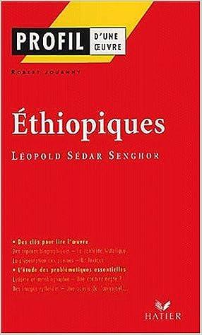 En ligne Ethiopiques, Léopold Sédar Senghor pdf