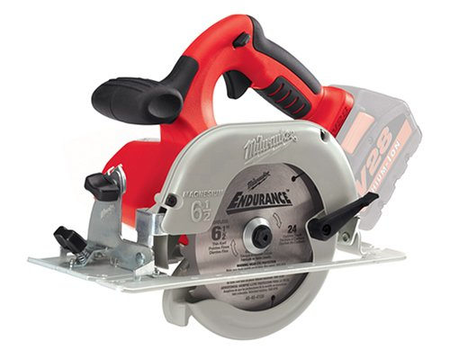 Bare-Tool Milwaukee 0730-20 28-Volt V28 Lithium Ion Cordless 6-1/2-Inch Cordless Circular Saw (Tool Only, No Battery) - 28v Lithium Ion Charger