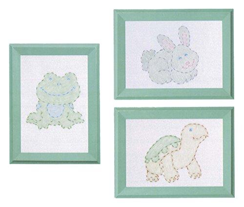 Needlepoint Sampler (Stamped Embroidery Kit Beginner Samplers 6