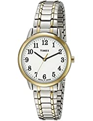 Timex Womens TW2P78700 Easy Reader Two-Tone Stainless Steel Expansion Band Watch