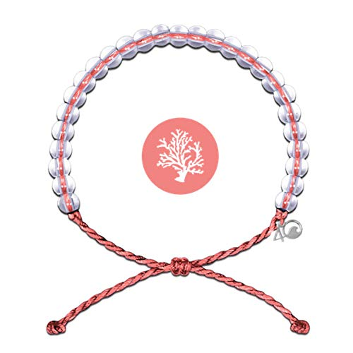 4OCEAN 100% Recycled Conservation Bracelet (unisex) O/S CORAL CORAL REEFS