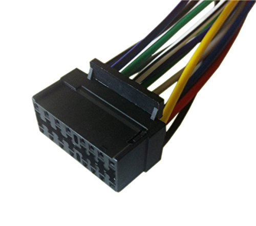 16 Pin Auto Stereo Wiring Harness Plug for JVC KD-G140/KD-G230 by Generic (Image #1)