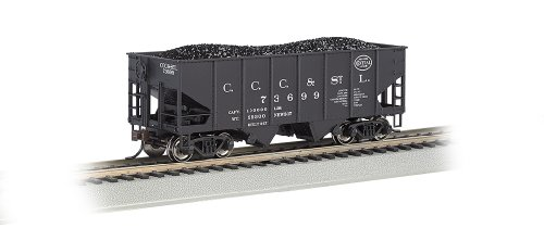 Bachmann Industries HO Scale NYC Big Four 55 Ton 2-Bay USRA Outside Braced Hopper -