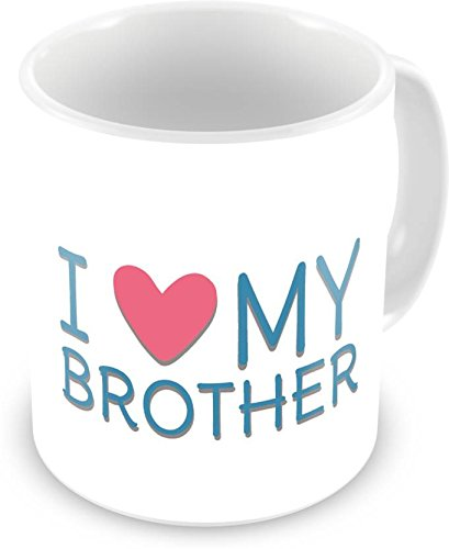 Buy Paper Plane Design Printed Mug Birthday Gift For Brother And Sister Quote Ceramic Coffee 330 Ml Microwave Safe Online At Low Prices In India