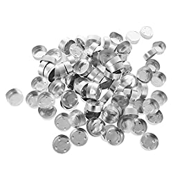 Water hep Candle Mold 200Pcs Empty Aluminum Tealig